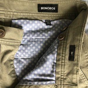 Bonobos Men's Olive Cotton Chino (32x30 Slim)